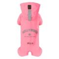 Puppy Ange Multi Protect Raincoat (Bodysuits, Regular Length) Pink